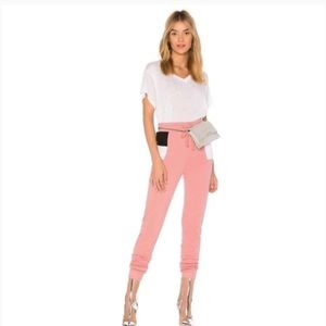 Wildfox Couture Rose Raina Sport Jogger Pants L